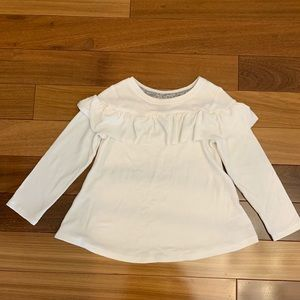 Toddler girl cream sweater size 3T